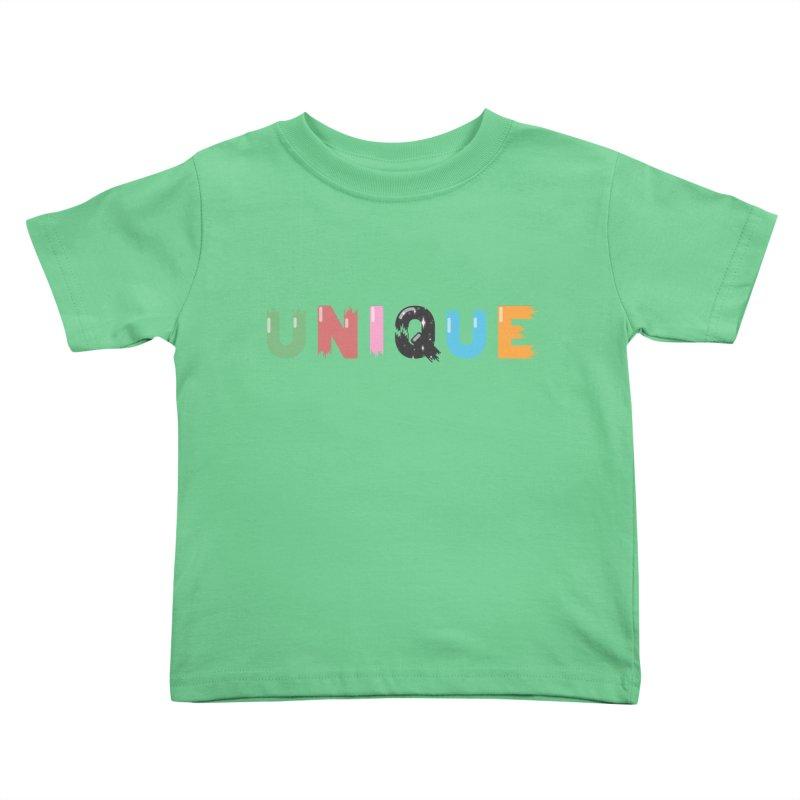 Unique Kids Toddler T-Shirt by Moremo's Artist Shop