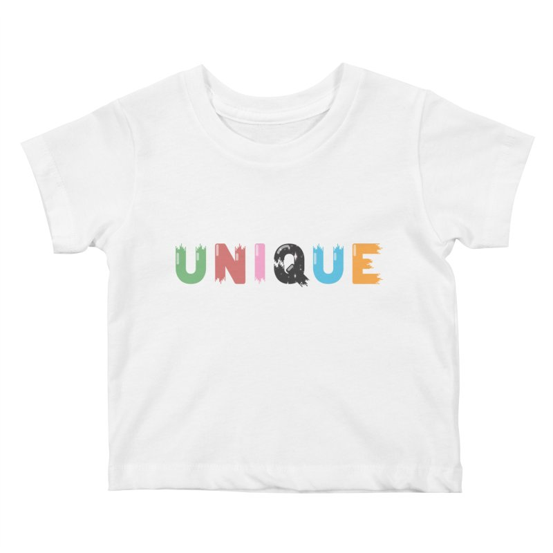 Unique Kids Baby T-Shirt by Moremo's Artist Shop