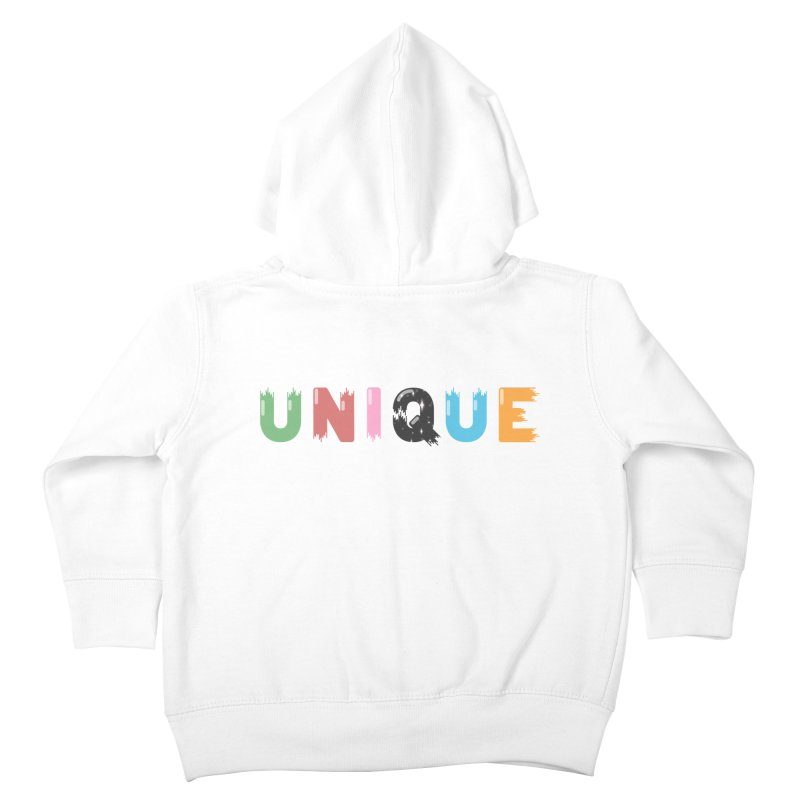 Unique Kids Toddler Zip-Up Hoody by Moremo's Artist Shop