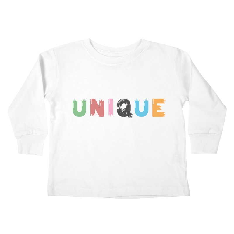 Unique Kids Toddler Longsleeve T-Shirt by Moremo's Artist Shop