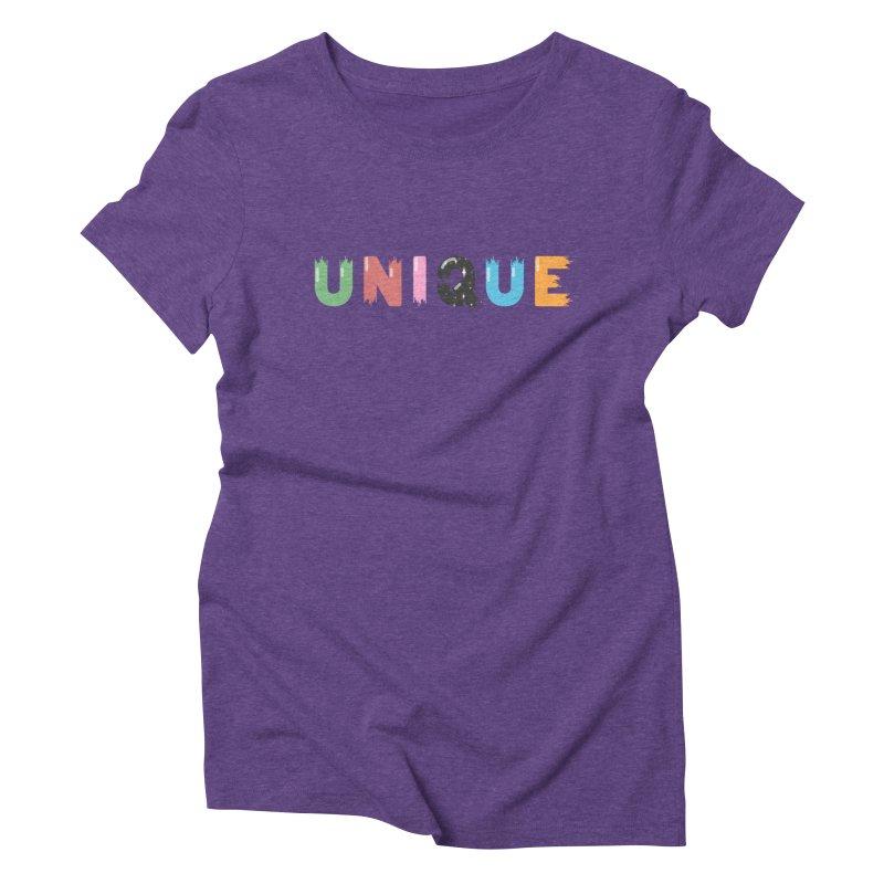 Unique Women's Triblend T-Shirt by Moremo's Artist Shop