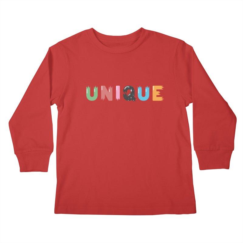 Unique Kids Longsleeve T-Shirt by Moremo's Artist Shop