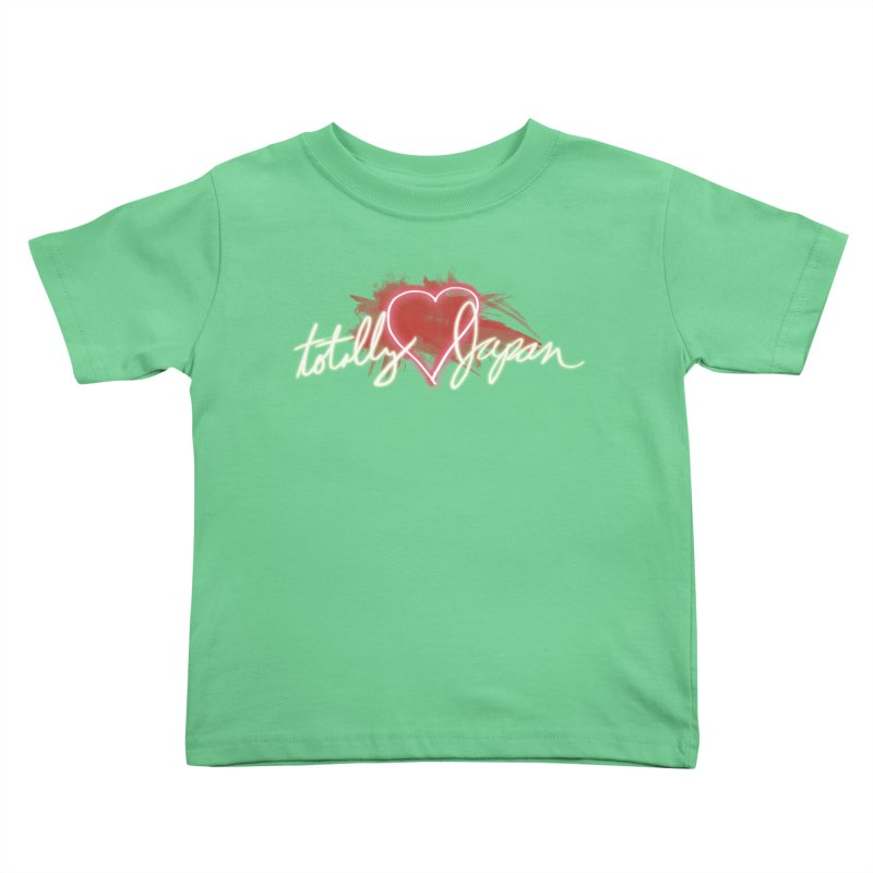 TotallyHeartJapan Kids Toddler T-Shirt by morethanordinary's Artist Shop