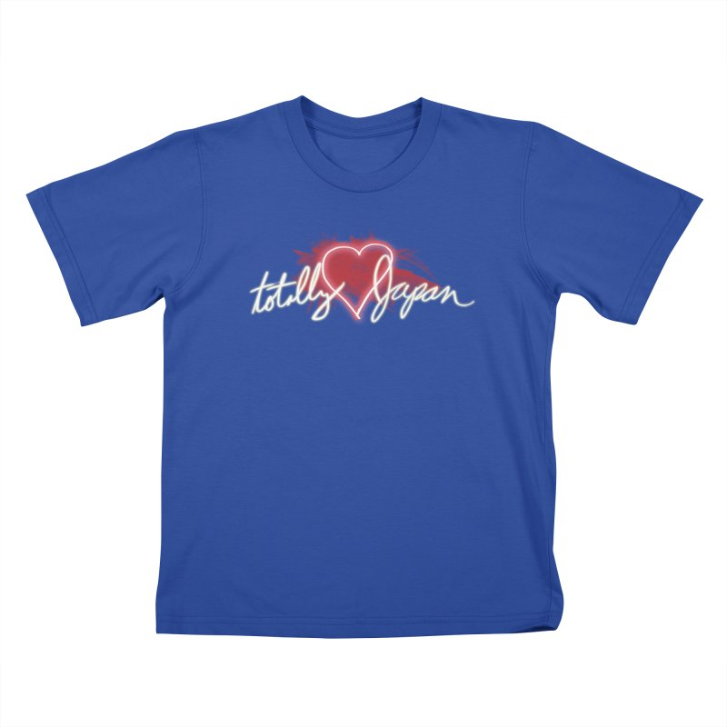 TotallyHeartJapan Kids T-shirt by morethanordinary's Artist Shop