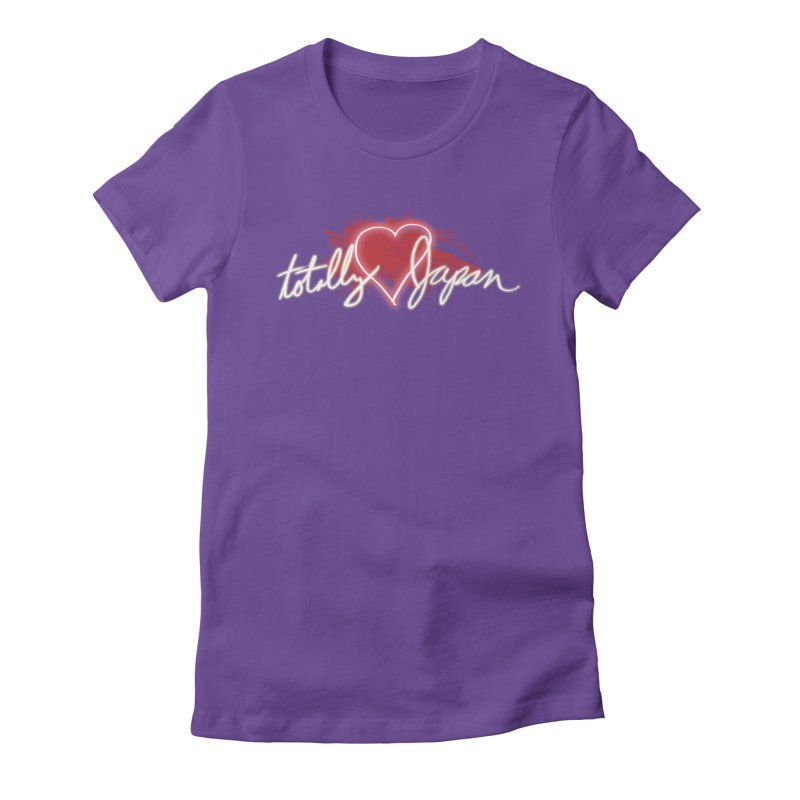 TotallyHeartJapan Women's Fitted T-Shirt by morethanordinary's Artist Shop