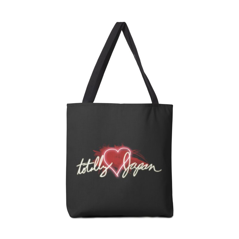 TotallyHeartJapan Accessories Bag by morethanordinary's Artist Shop