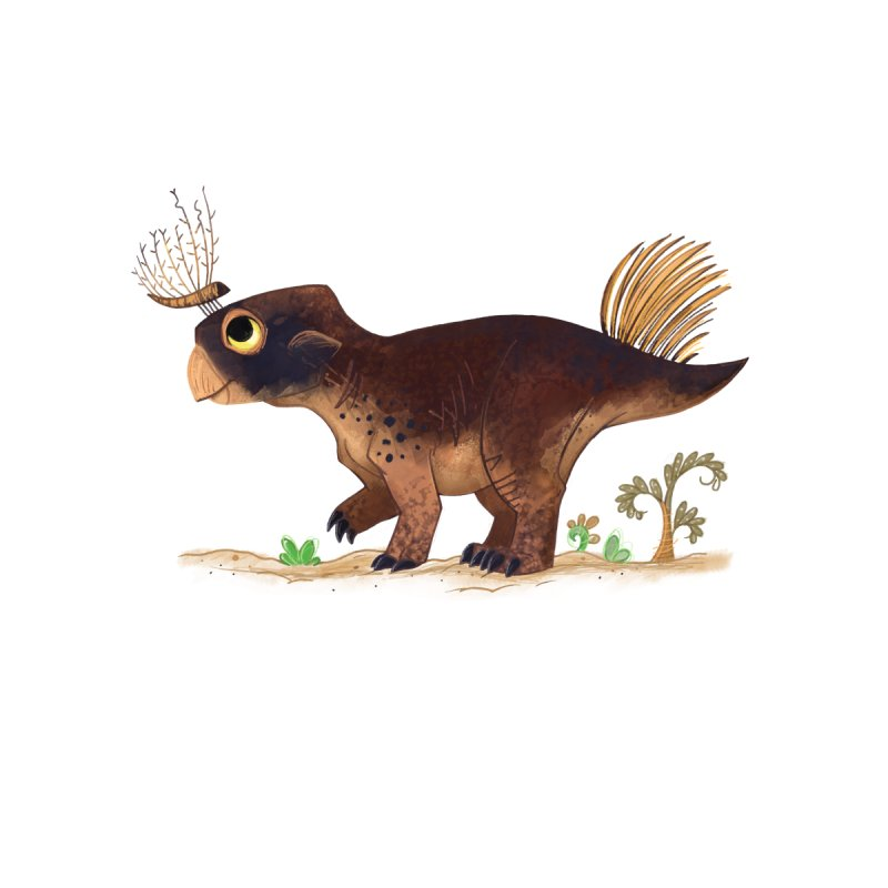 Psittacosaurus by morganobrienart's Artist Shop
