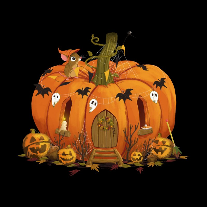 Matchstick Mouse Pumpkin House by morganobrienart's Artist Shop