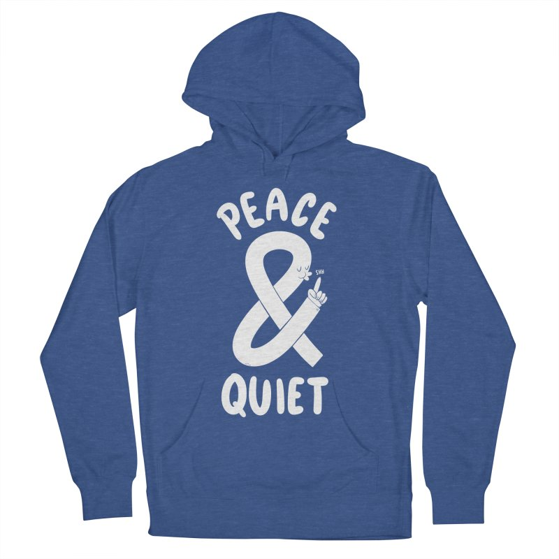 Peace & Quiet Women's French Terry Pullover Hoody by Morkki
