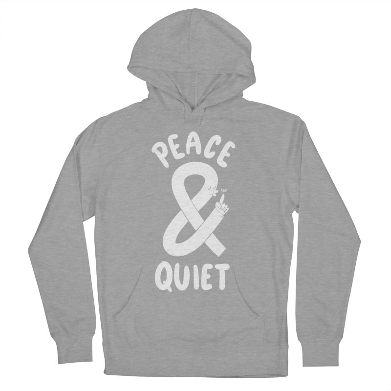 Peace & Quiet Men's French Terry Pullover Hoody by Morkki