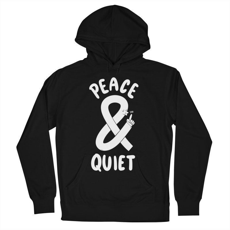 Peace & Quiet Men's Pullover Hoody by Morkki