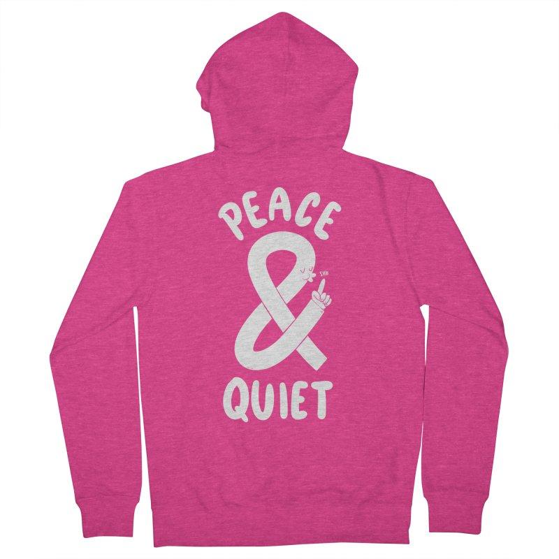 Peace & Quiet Women's Zip-Up Hoody by Morkki