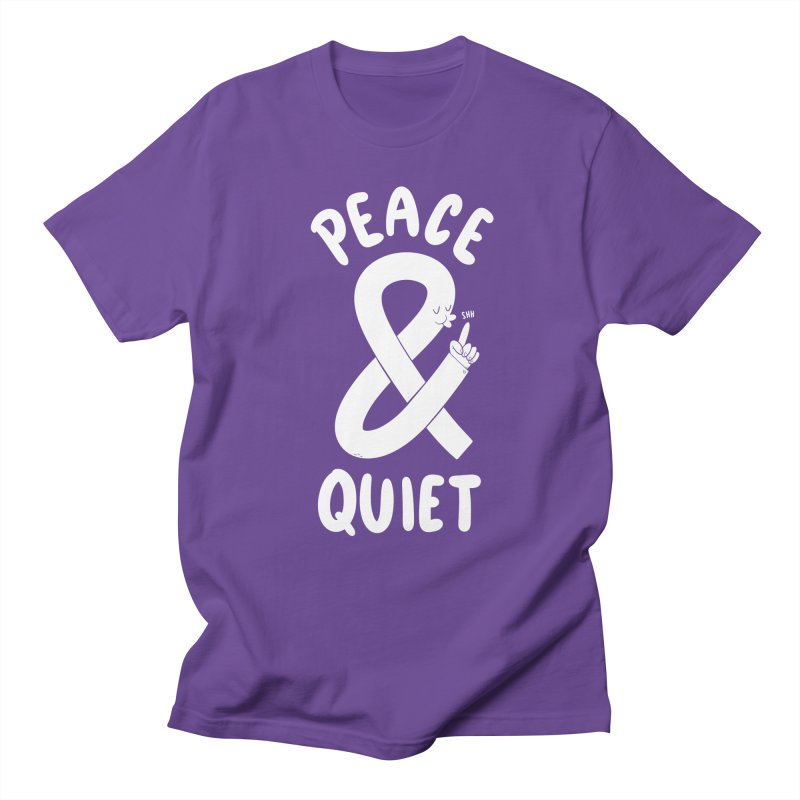 Peace & Quiet Men's Regular T-Shirt by Morkki