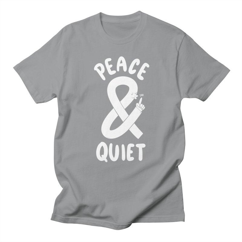 Peace & Quiet Men's T-shirt by Morkki