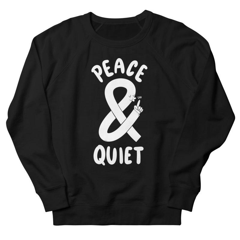 Peace & Quiet Women's Sweatshirt by Morkki