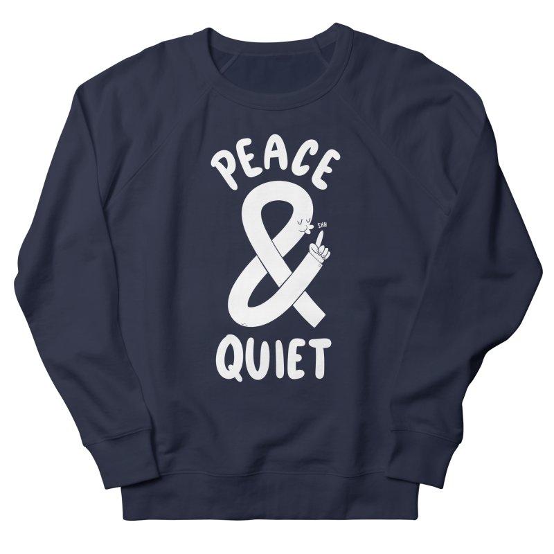 Peace & Quiet Men's Sweatshirt by Morkki