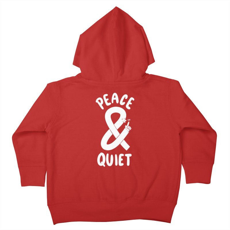 Peace & Quiet Kids Toddler Zip-Up Hoody by Morkki