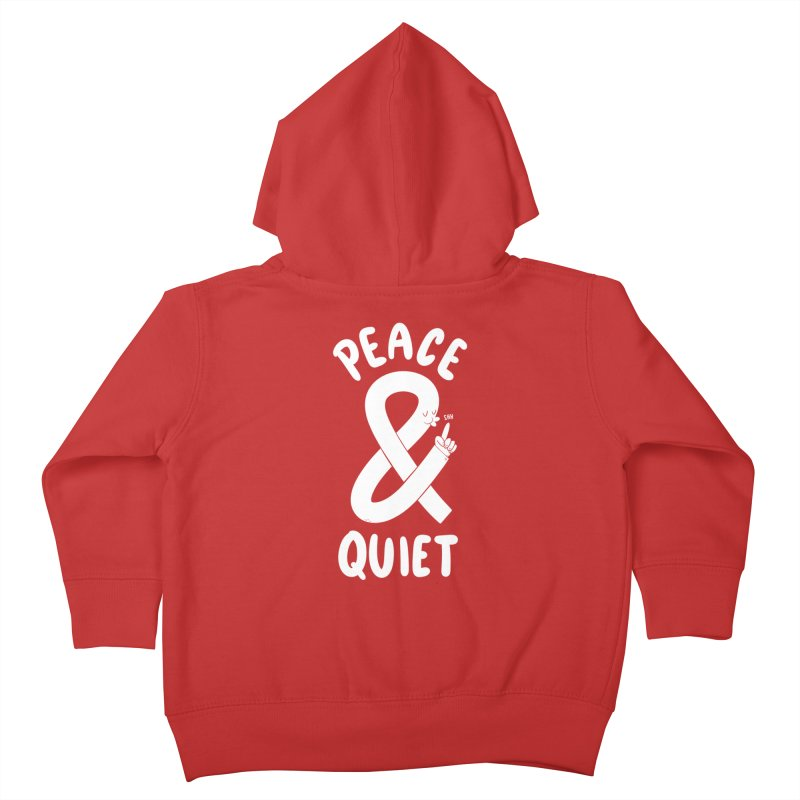 Peace & Quiet Kids Toddler Zip-Up Hoody by Morkki