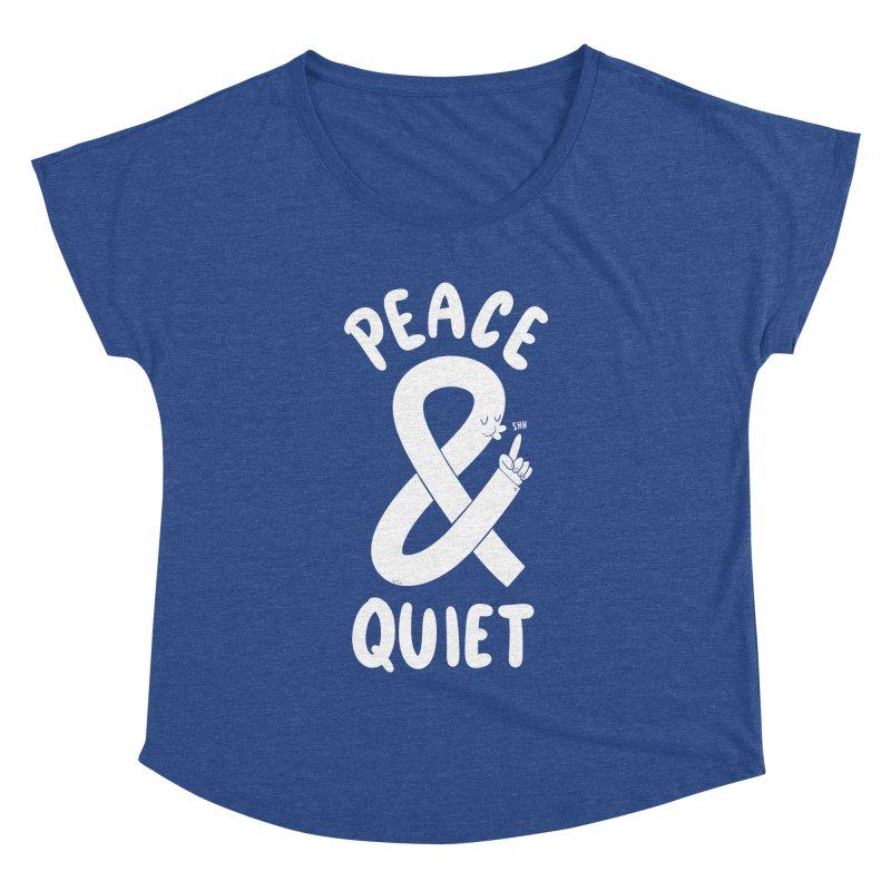 Peace & Quiet Women's Dolman Scoop Neck by Morkki