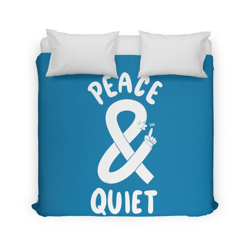 Peace & Quiet Home Duvet by Morkki