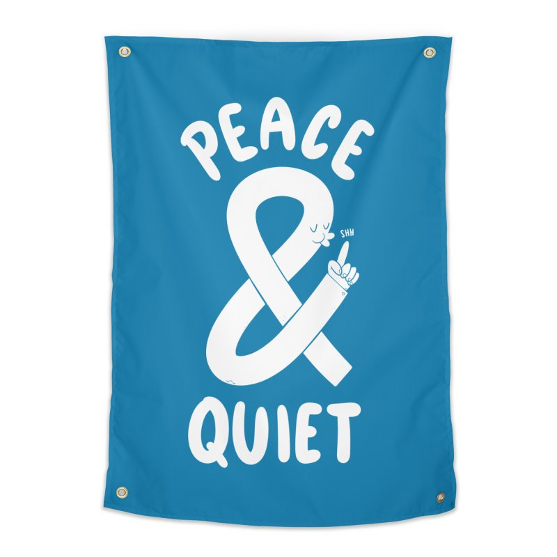 Peace & Quiet Home Tapestry by Morkki