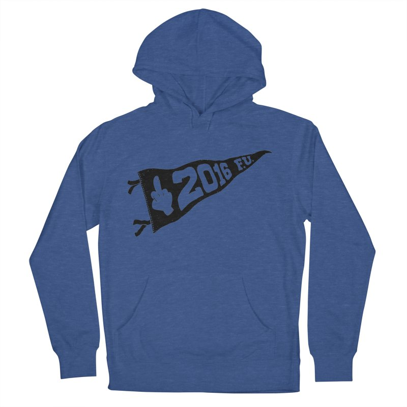 2016 F.U. Men's French Terry Pullover Hoody by Morkki