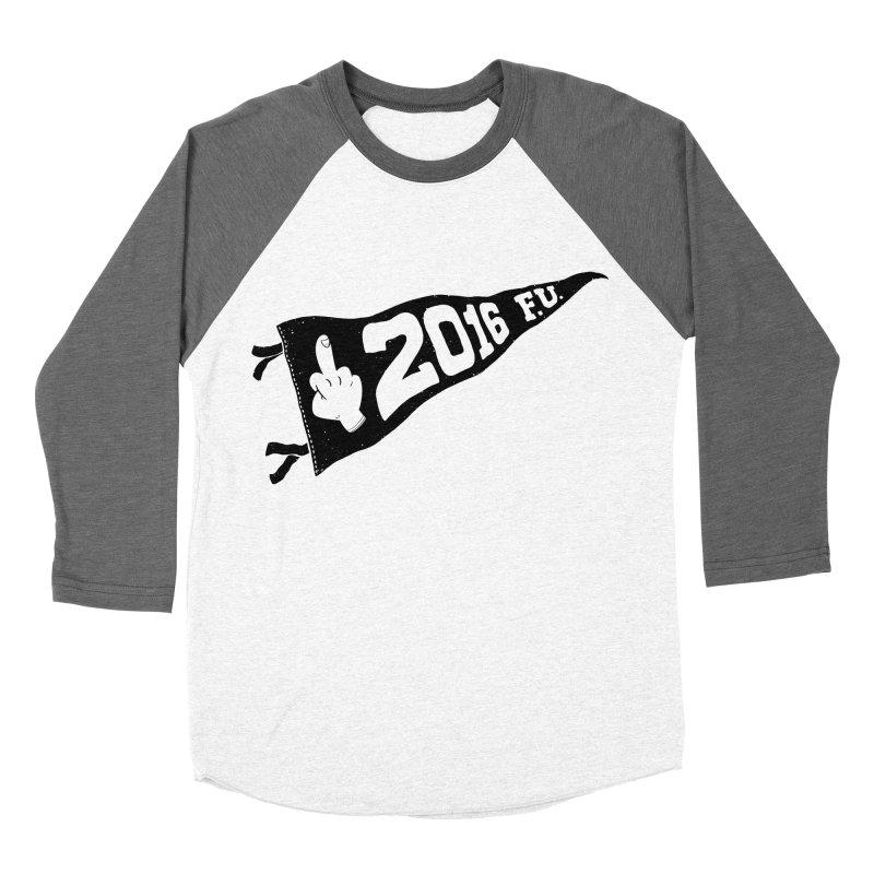 2016 F.U. Women's Baseball Triblend T-Shirt by Morkki