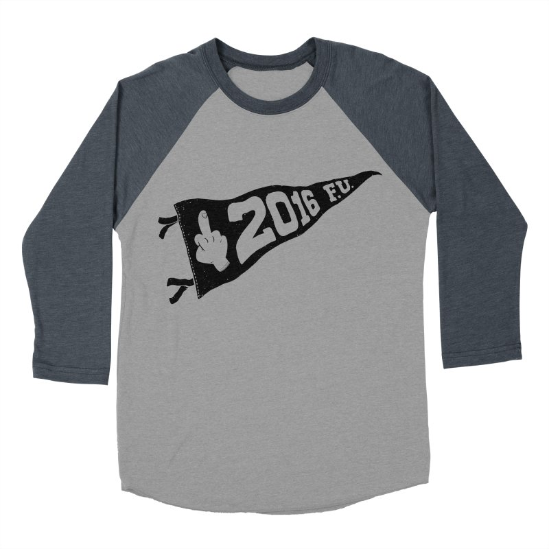 2016 F.U. Men's Baseball Triblend T-Shirt by Morkki