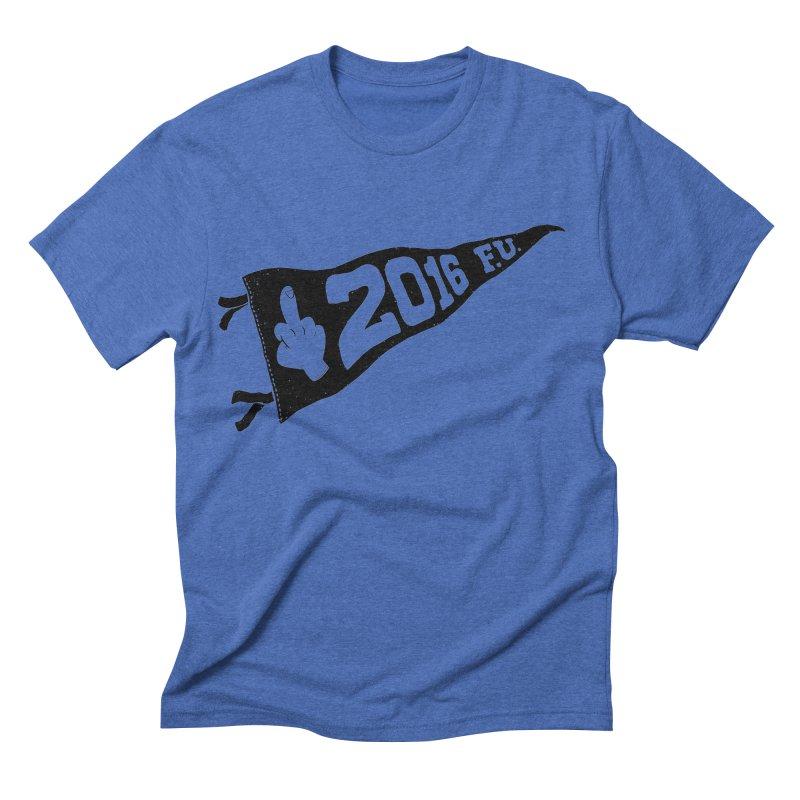 2016 F.U. Men's Triblend T-shirt by Morkki