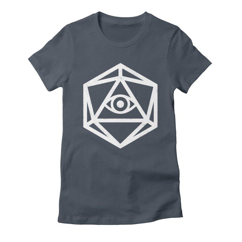 White Die of Providence Women's T-Shirt by Morkki