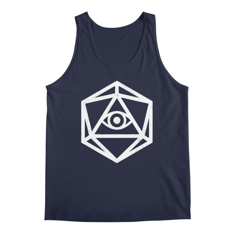 White Die of Providence Men's Tank by Morkki