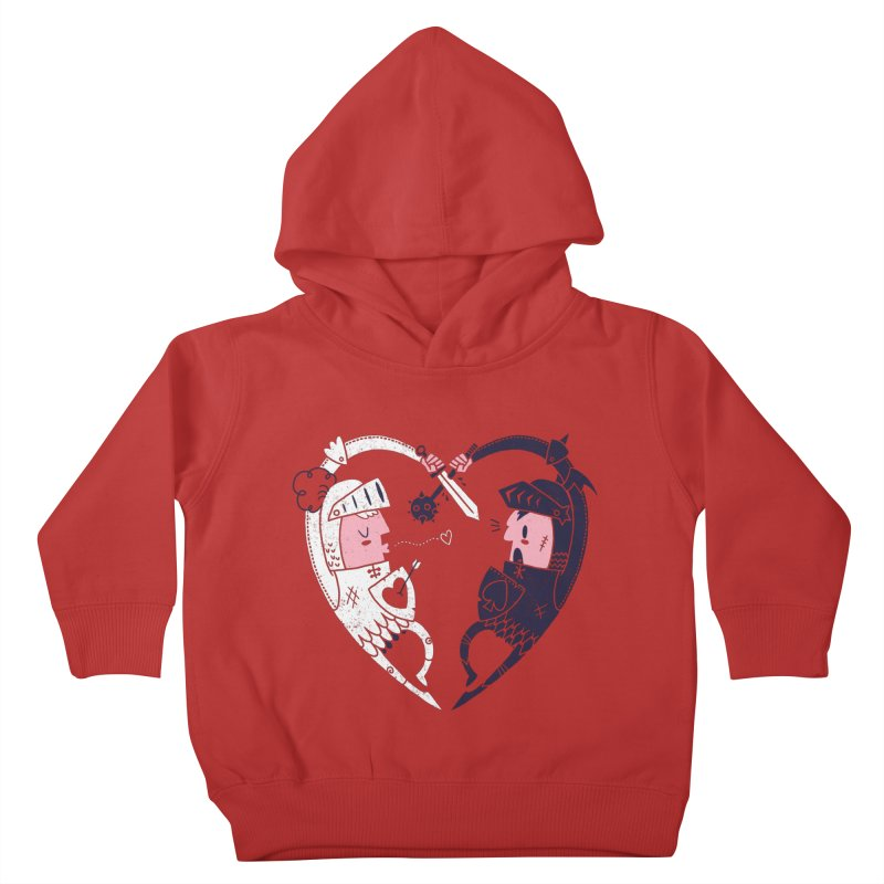 All is Fair in Love and War Kids Toddler Pullover Hoody by Morkki