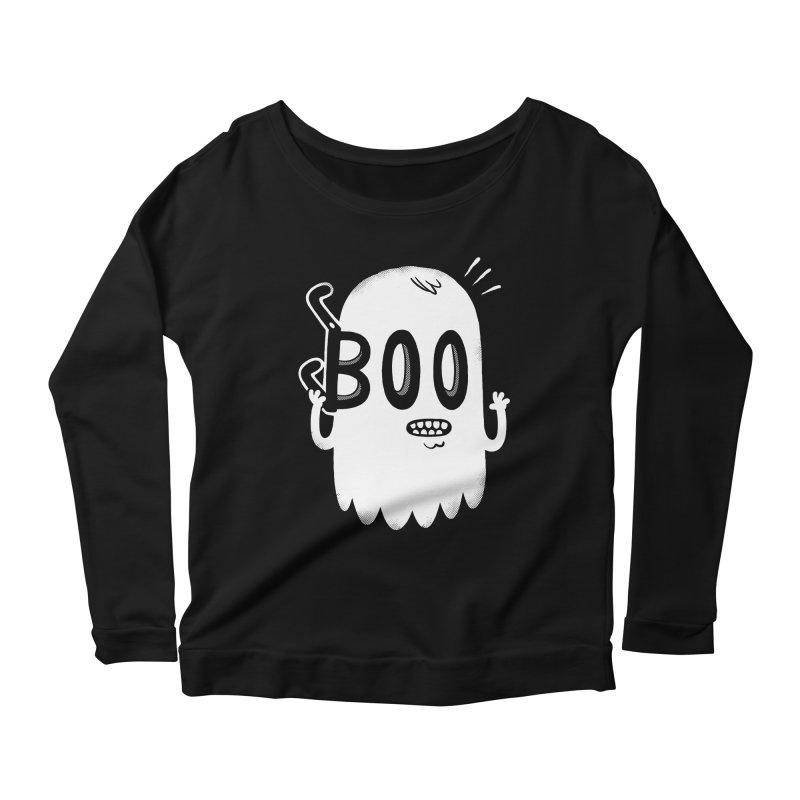 Awkward Dead Women's Scoop Neck Longsleeve T-Shirt by Morkki