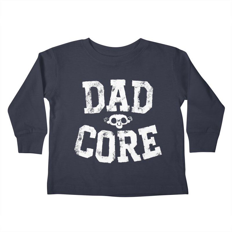 Dadcore Kids Toddler Longsleeve T-Shirt by Morkki