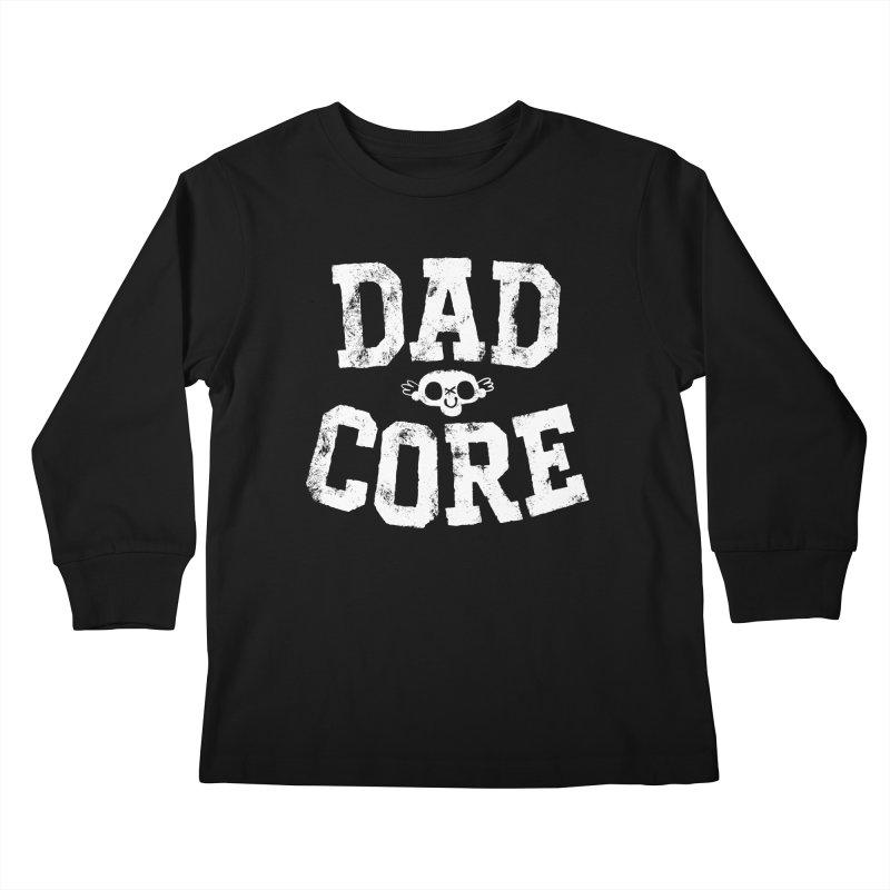 Dadcore Kids Longsleeve T-Shirt by Morkki