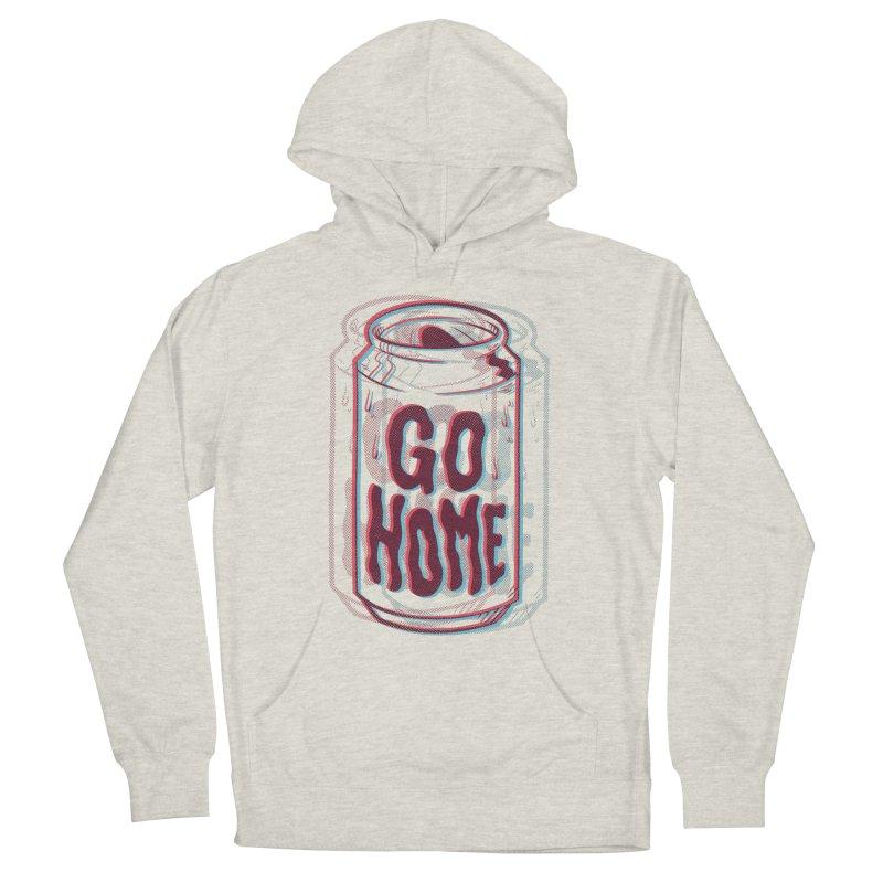 Go Home Men's Pullover Hoody by Morkki