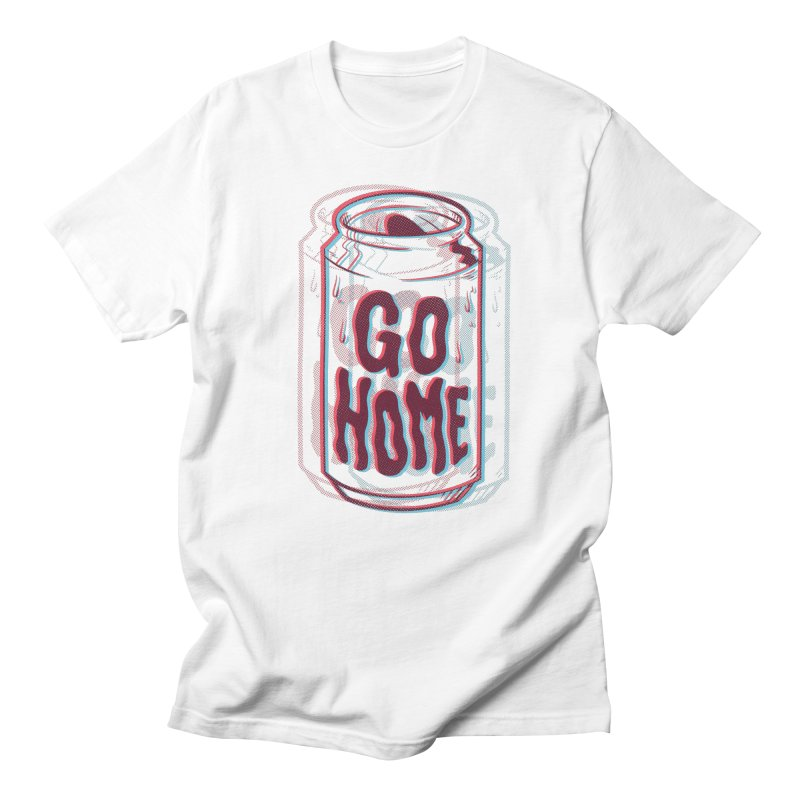 Go Home Men's T-Shirt by Morkki