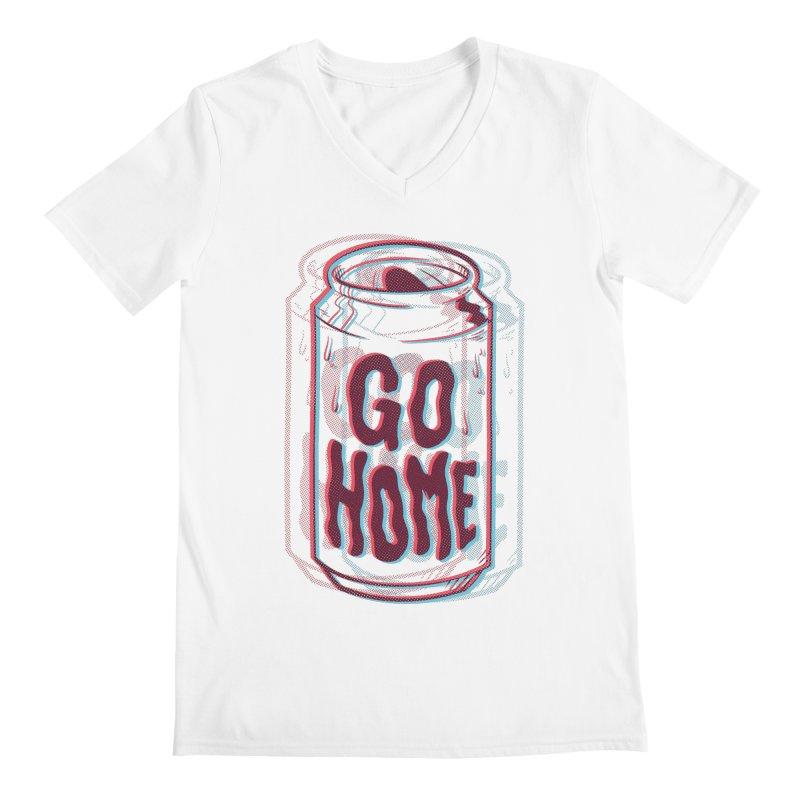 Go Home Men's V-Neck by Morkki