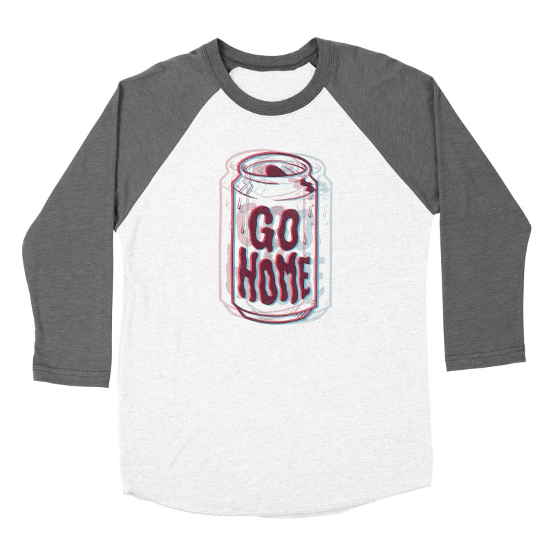 Go Home Women's Baseball Triblend Longsleeve T-Shirt by Morkki