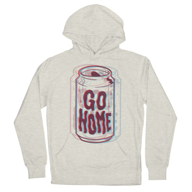 Go Home Men's Pullover Hoody by Morkki