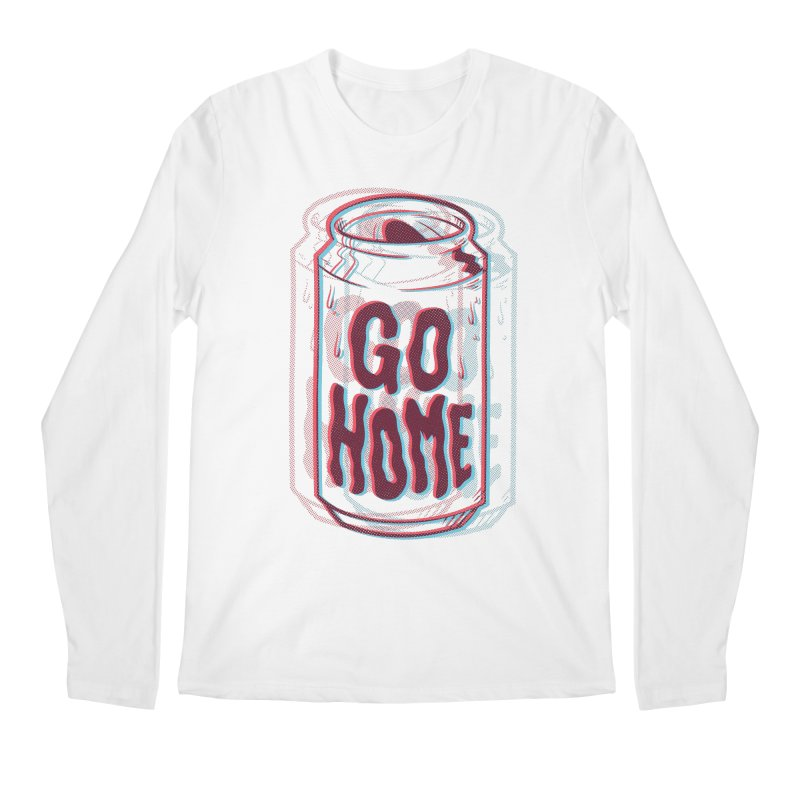 Go Home Men's Regular Longsleeve T-Shirt by Morkki