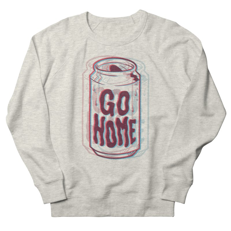 Go Home Men's French Terry Sweatshirt by Morkki