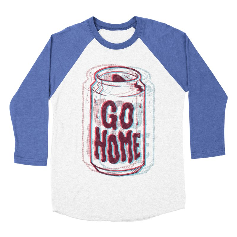 Go Home Women's Baseball Triblend Longsleeve T-Shirt by Morkki