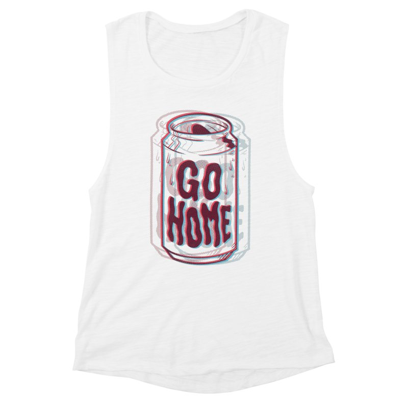 Go Home Women's Muscle Tank by Morkki