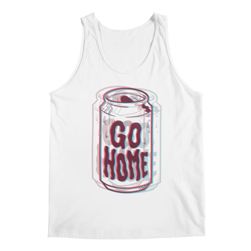 Go Home Men's Regular Tank by Morkki
