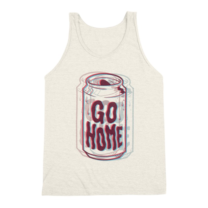 Go Home Men's Triblend Tank by Morkki