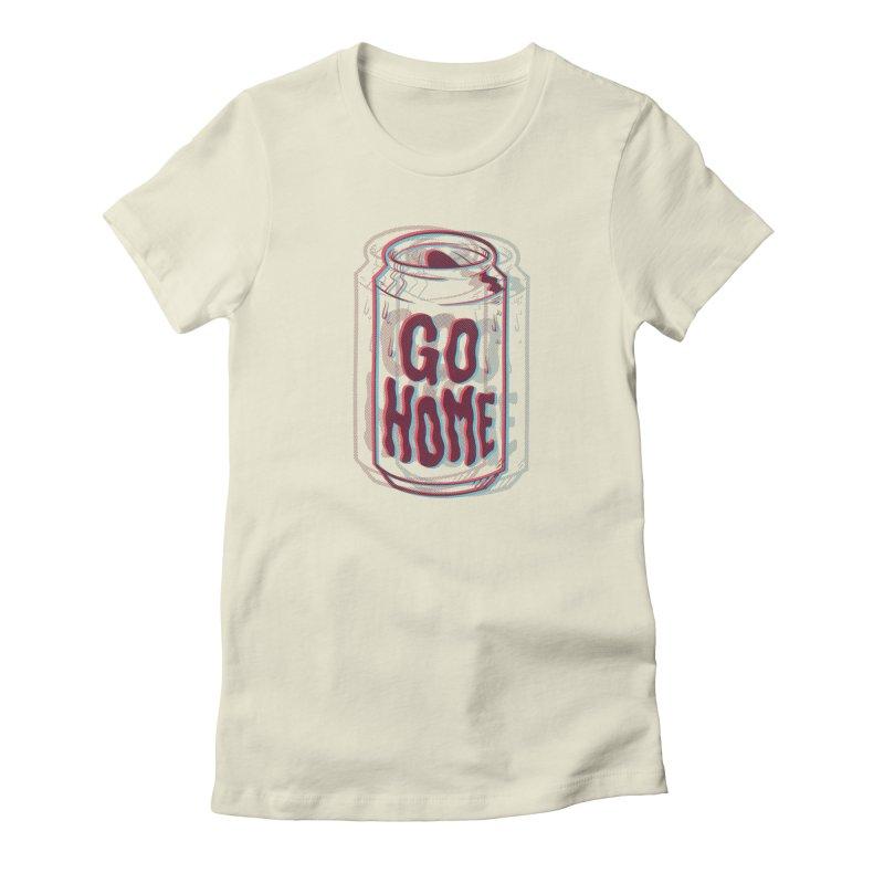 Go Home Women's T-Shirt by Morkki