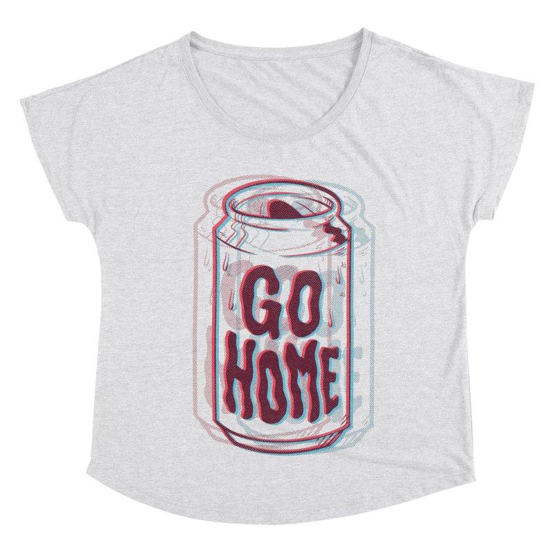 Go Home Women's Scoop Neck by Morkki