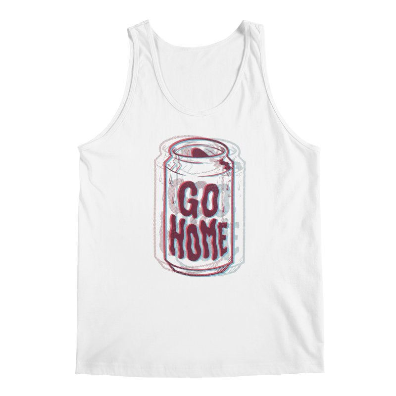 Go Home Men's Tank by Morkki