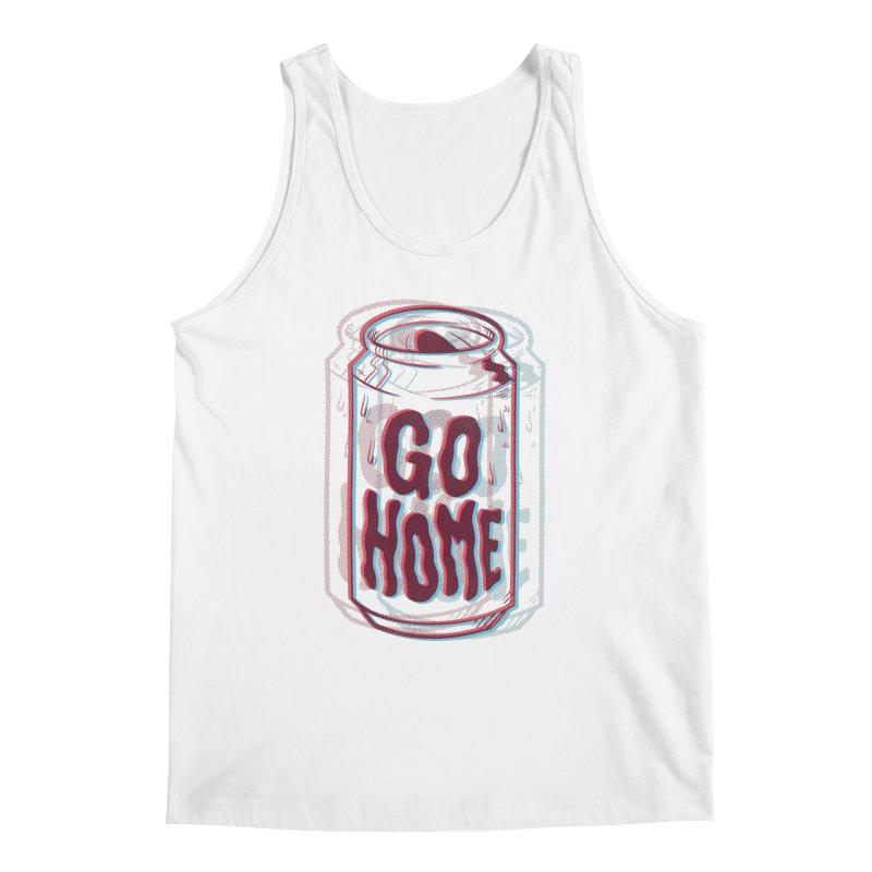 Go Home Men's Tank by Morkki